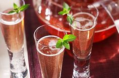 Champagne and Cranberry Juice Sparkling Punch - Try this tasty recipe from Ocean Spray.