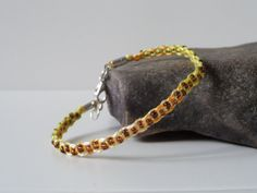 colorful slim macrame hemp bracelet with brown beads by Kreativprodukte, Hemp Bracelets, Macrame Jewelry, Vienna, My Etsy Shop, Colorful, Slim, Wallet, Beads, Vintage