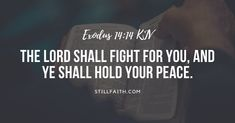 Top Bible Verses, Popular Bible Verses, Book Of Exodus, Exodus 14 14, Hold Your Peace, Book Of Genesis, Most Popular, Lord, Reading