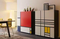 Cappellini Homage to Mondrian door Shiro Kuramata | Design Oostende
