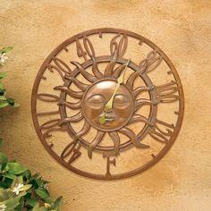 """AcuRite 15"""" Copper Sun Thermometer 75358"""