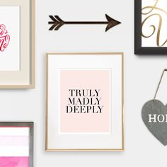 6 FREE Valentines Day prints to download! #ChelseaCreations