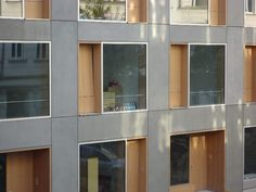 Berlin Zelter Str., Großformatplatten