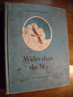 Wider Than the Sky - Teacher's Edition by Margaret Early (1968) ~~ For Sale At Wenzel Thrifty Nickel eCRATER store
