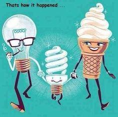 Energy-efficient lightbulbs.