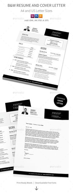 How To Do Cover Letter For Resume Professional Business Resume And Cover Letter  Business Resume .