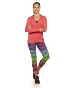 Hood Dry with Rio print leggings www.brasilfitusa.com Womens Workout Outfits, Print Leggings, Fit Women, Rio, Clothes For Women, Pants, Style, Fashion, Printed Leggings