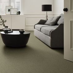 Make sure your living room is pet-friendly with our Pawparazzi II Pet-Friendly Carpet in Dry Sage! This beautiful carpet is versatile enough to fit with many different decor styles and is a stunning sage green color. Starting at $5.89 a SQ FT this carpet is plush and has stain and hair-resistant qualities.
