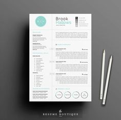 """Resume Template 3page 