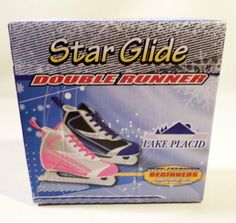 New-in-Box-Youth-Boys-Size-13-Star-Glide-Double-Blade-Runner-Ice-Skates-in-Blue