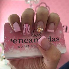 Beauty Nails, Hair Beauty, Semi Permanente, French Nails, Short Nails, Pink Nails, Nail Designs, Make Up, Nail Art