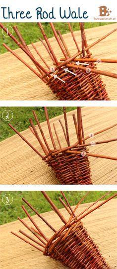 Willow Weaving Horn of Plenty - How to