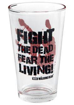 Fight The Dead - Pintglas van The Walking Dead