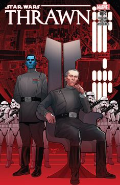 Thrawn: The Rise of the Grand Admiral (Marvel Comics May 2018 solicitations - regular cover) by via Star Wars Art Gallery Star Wars Comics, Marvel Comics, Star Trek, Star Wars Art, Sith, Timothy Zahn Star Wars, Thrawn Star Wars, Science Fiction, Grand Admiral Thrawn