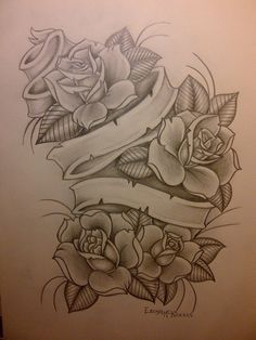 Roses n banner by Ebony369 on DeviantArt