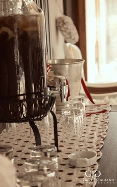Kitchen Tea details at 2 Sisters. Drinks Table. #kitchentea #party #event #detail #photography #gertjgagiano