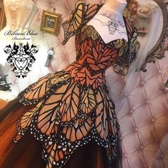 Pretty Outfits, Pretty Dresses, Beautiful Outfits, Cool Outfits, Mode Kimono, Kleidung Design, Fantasy Gowns, Fairytale Dress, Butterfly Dress