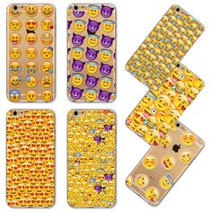 Phone Case Soft TPU Funny Monkey Emoji Case For iPhone 4 4s 5 5s SE 5c 6 6s 6plus 6s plus New Design Cover Mobile Phone Bag