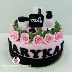 Mary Kay Design Fondant Cake