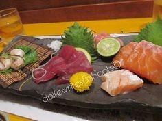 Tuna, salmon, fugu and pickles. Japan Trip, Japan Travel, Sashimi, Osaka, Kobe, Tuna, Pickles, Salmon, Ethnic Recipes