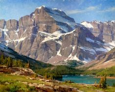 Clyde Aspevig is a contemporary landscape painter with truly inspiring images. Mountain Art, Mountain Landscape, Landscape Art, Landscape Paintings, Landscape Photos, Classic Paintings, Beautiful Paintings, Cool Landscapes, Beautiful Landscapes