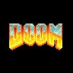 Doom Logo Created by Alex Griendling