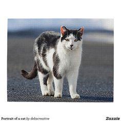 Portrait of a cat puzzle