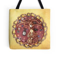 $27.50 #totebag, #totebags, #treetotebag, #steampunktotebag, #steampunktotebag, #treeoflife, #steampunktreeoflife, #treeart, #shoulderbag, #shoppingbag, Steampunk Tree Tote Bag, Tree of Life, Tree Love, For Tree Lovers, Tree, Pagan, The Portal Tree, Tree Art, Shoulder Bag, Texture, Gold and Brown, Shopping Bag The Portal Tree This tree is the gateway to any fantasy land you can think of. Just set the dials, turn the knobs and swing the pendulum, and it takes you wherever you want to go...