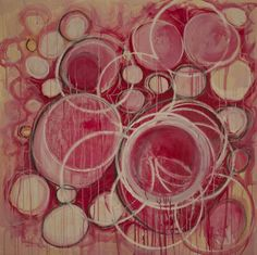 "linda colletta  Artist | Saatchi Online Artist Linda Colletta; Painting, ""Running Circles"" #art"