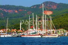 General information on Gocek Turkey, marinas, islands and beaches. Things to do in Gocek town. Stuff To Do, Things To Do, Anchors, Sailing Ships, Beaches, Attraction, Islands, Boats, Turkey