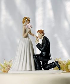 Wedding Cake Topper Figurine: A Cinderella Moment - Perfect For The Fairy Tale Wedding Theme. www.ceceliasbestwishes.com