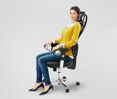Kancelářské křeslo Open Point - to nejlepší pro vaše záda při dlouhé práci v kanceláři.