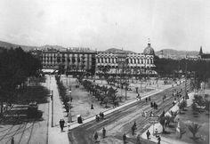 Plaça Cataluna. Principios del siglo XX
