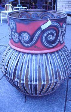 Amazing upcycled 55 gallon drum, by Chris Tymoshuk