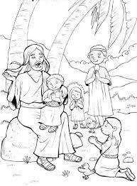 Risultati immagini per gesù con bambini disegni
