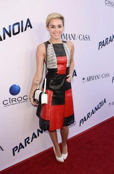 Miley Cyrus. Photo by Dan Steinberg/Invision/AP #fashion #celebrity