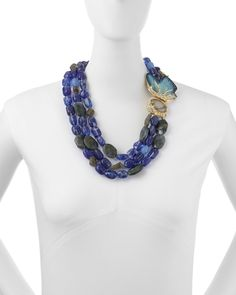 Butterfly Torsade Necklace