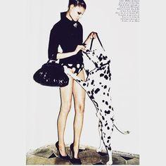 Polka dots and Dalmatian spots; Dogs are simply engrained in fashion. #dalmatian #moda #modamasculina #win #spots #model #canine #caninelovers #dog #puppy #puppiesofinstagram #dior #furla #ferretti #goyard #packmentality #lanvin #paris #madeinitaly