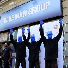 Mom Knows Best : The Blue Man Group Was An Awesome Show At Blogger ...