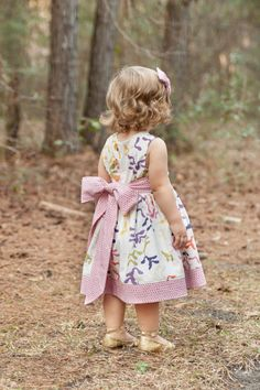 The Party Dress FREE Pattern from The Cottage Mama. Size 6 month - 10 years. www.thecottagemama.com