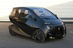 Peugeot has debuted the VéLV, a futuristic looking three wheel electric car developed with the urban driver in mind.