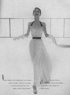 Avedon for Vogue 1950 - oh, I really was born at the wrong time.