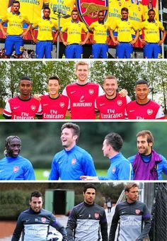 The British, The German, The French & The Spanish of Arsenal Montage.
