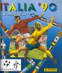 Panini World Cup 90 Italy Album Cover
