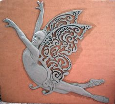 Mid-Summer's Night Dream ©2011 by Vinnie Bagwell | Plastilina bas-relief wall hanging in progress