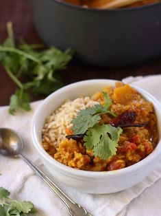 35 Fall Recipes - Red Lentil Pumpkin Dal - Best Quick And Easy Fall Recipe Ideas and Healthy Dishes You Can Make For Dinner, Soup, Appetizers, Crockpot and Slow Cooker Snacks and Drinks, Even Dessert http://diyjoy.com/best-fall-recipes
