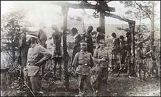 Belgium Congo Other pinners identify this as German East Africa during Regardless, the Belgians, under orders of King Leopold II hung thousands of Congolese citizens. Léopold Ii, Rd Congo, German East Africa, King Leopold, Belgian Congo, Forget, Black Families, African History, History Facts