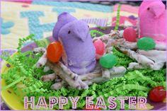 Edible Easter Treats   Mommy's Kitchen: Easter Peep Nests {Edible Easter Treats}