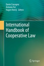 Description: The degree of development reached by cooperatives of different sectors throughout the world, which among others led to the UN declaring 2012 as the International Year of Cooperatives, needs to be accompanied by a similar development of corresponding legislation. To this end, a better knowledge of cooperative law from the comparative point of view, as has already been established for other types of enterprises, becomes of great importance.