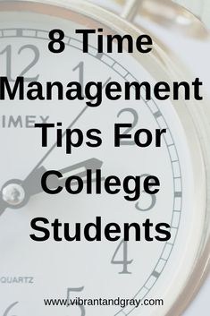 Managing your time in college is hard! Learn how to effectively manage your time as a college student here! College Majors, College Hacks, College Fun, Education College, College Students, Dorm Hacks, College Success, College Teaching, Importance Of Time Management